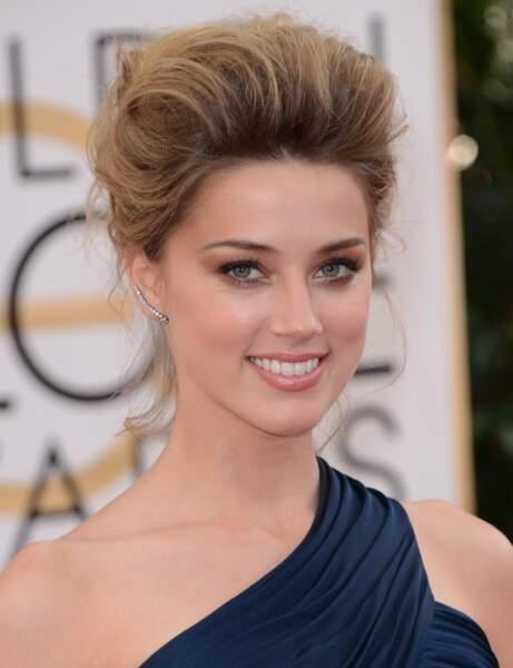 Le châtain clair d'Amber Heard