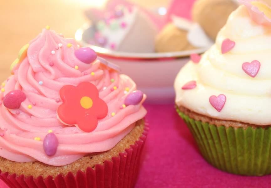 Cupcake : un coup de colorant vert et on y est !
