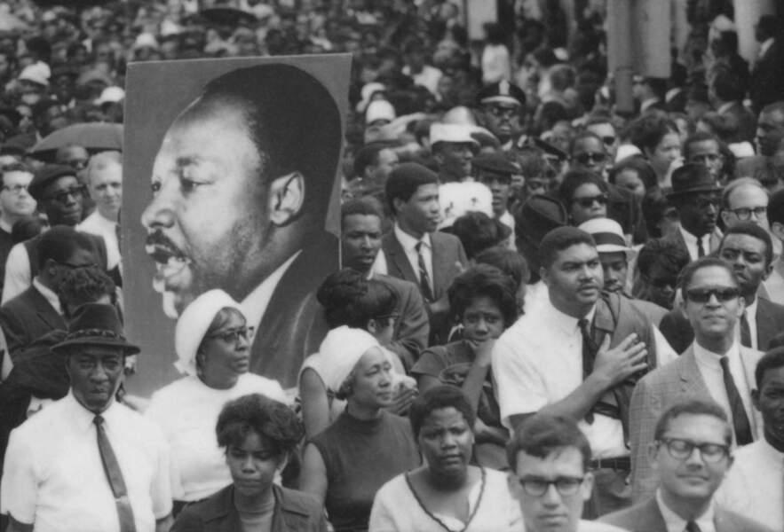 Obsèques de Martin Luther King