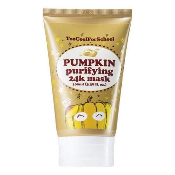 TOO COOL FOR SCHOOL : Pumpkin Gold Peel Off Mask, tube 100ml, 27,90 € en exclusivité chez Sephora