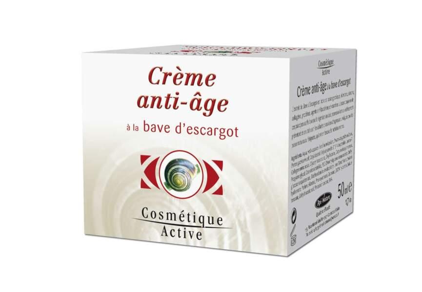 Crème anti-âge à la bave d'escargot Api-Nature