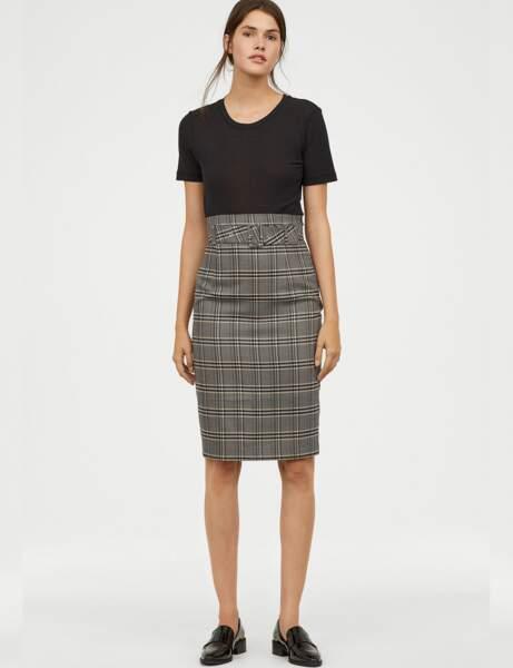 Nouveautés H&M : la jupe de working-girl