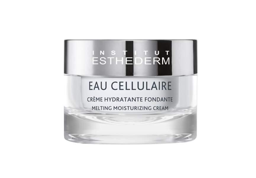 La crème hydratante fondante Eau cellulaire Esthederm