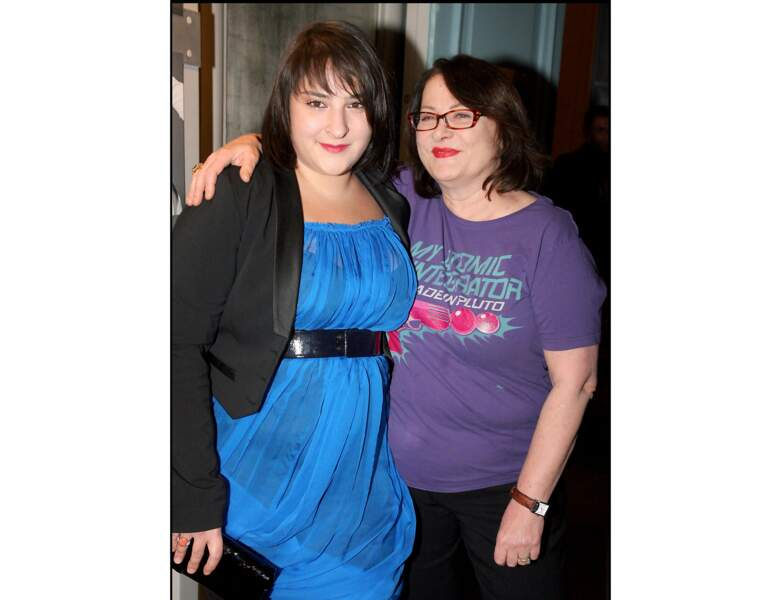 Josiane Balasko et sa fille Marilou Berry en 2009