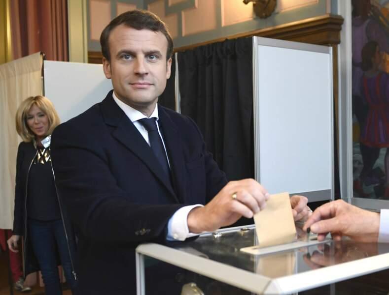 Emmanuel et Brigitte Macron - Mai 2017