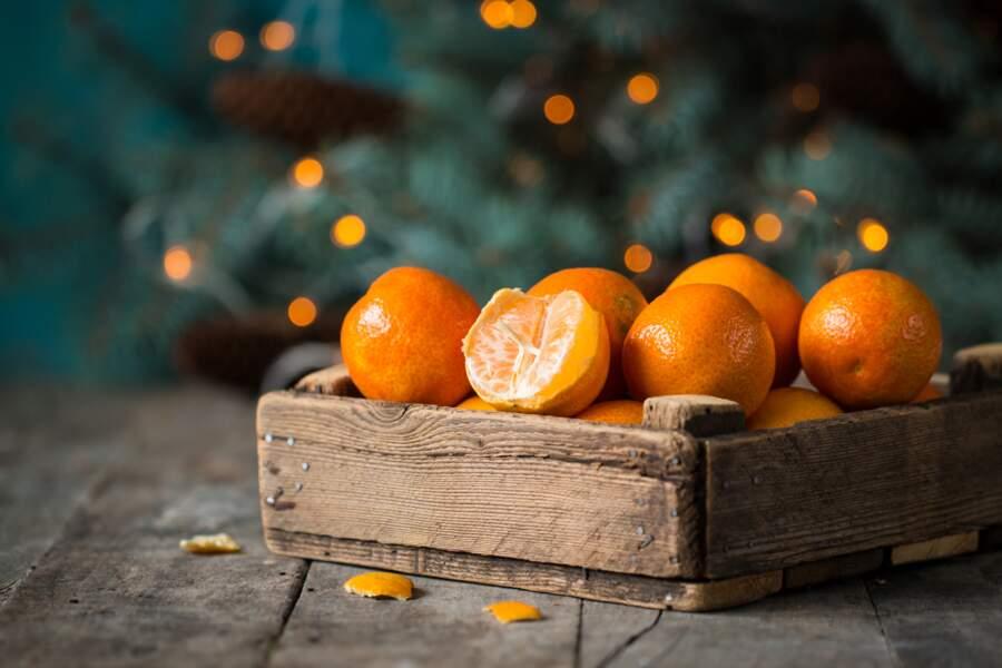 Les clémentines et les mandarines