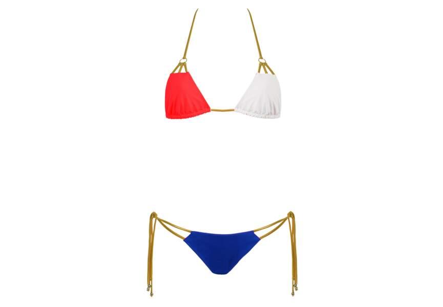 Bleu blanc rouge : le bikini sexy