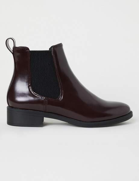 Nouveautés H&M : les bottines anglaises