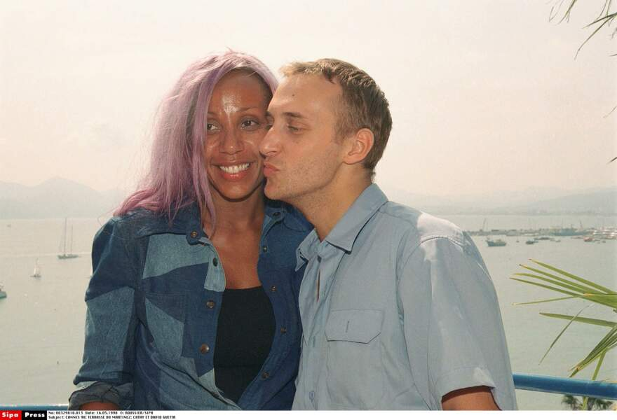 David et Cathy Guetta en 1998
