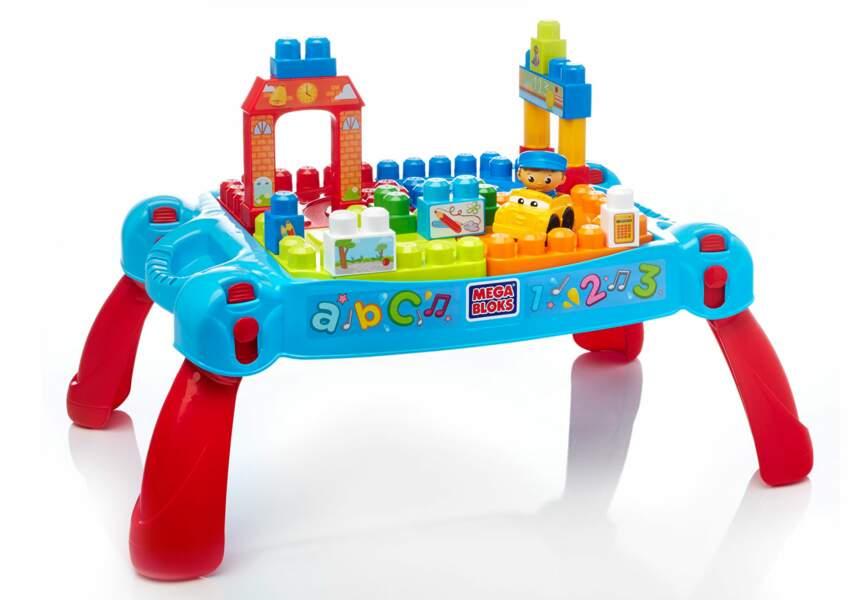 Une table de construction