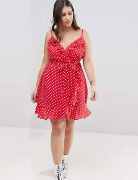 Mode grande taille : la robe imprimée pois