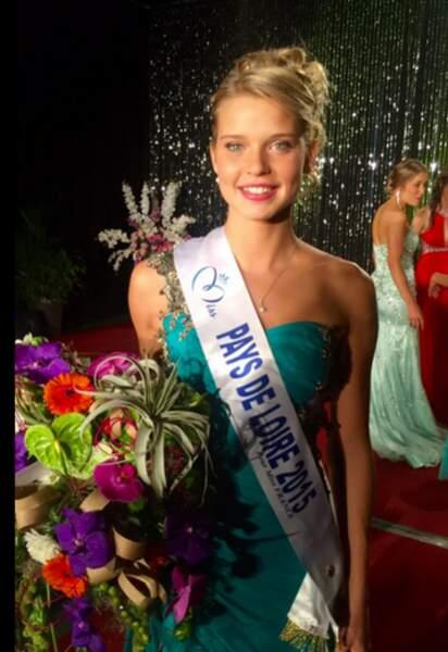 Angelina Laurent, Miss Pays de la Loire