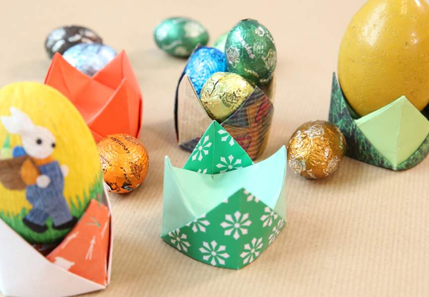 Des coquetiers en origami