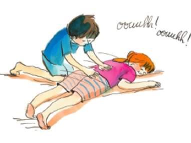 Notre sélection de massages pour les enfants