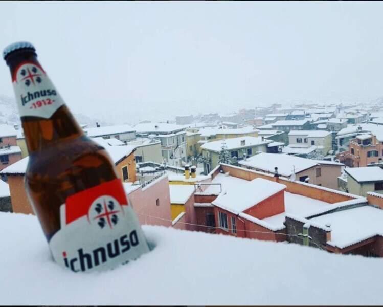 Même plus besoin de frigo en Sardaigne, comme ici à Olieta !
