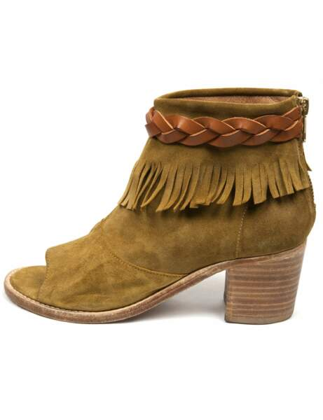 Safari club : la low boots