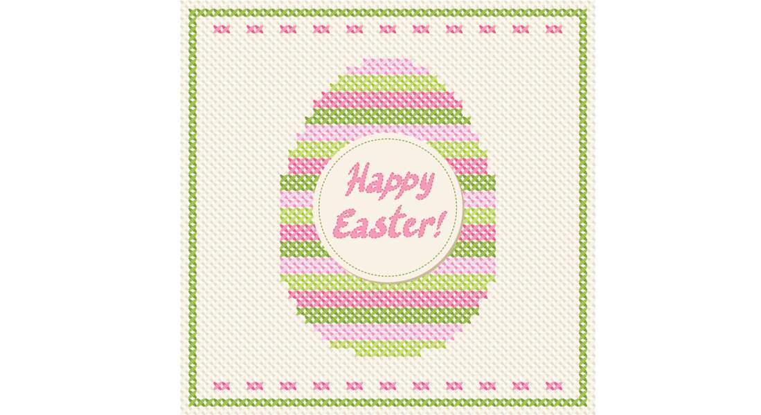 Broderie de Pâques