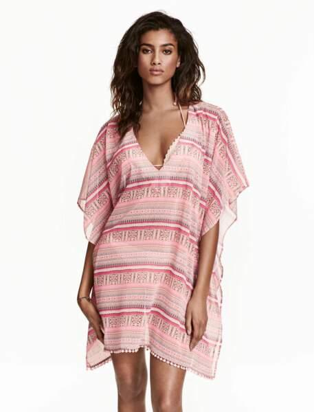 Robe de plage façon caftan