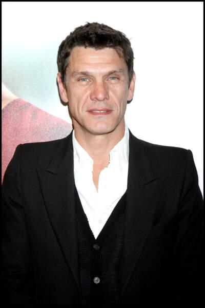 """Marc Lavoine à l'avant-première du film """"Celle que j'aime"""" à Paris le 20 avril 2009."""