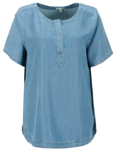 La blouse en denim