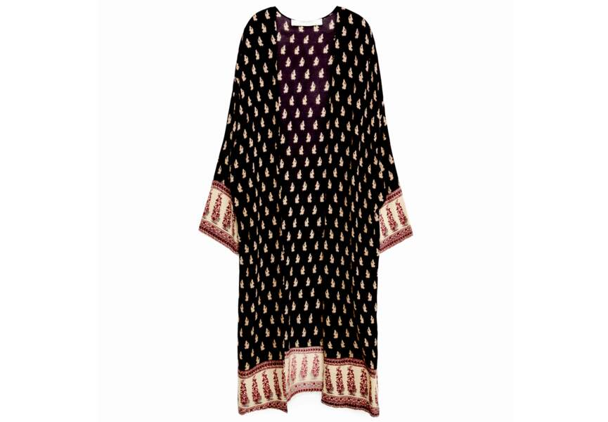Tendance kimono: long
