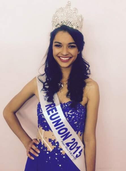 Azuima Issa, Miss Réunion
