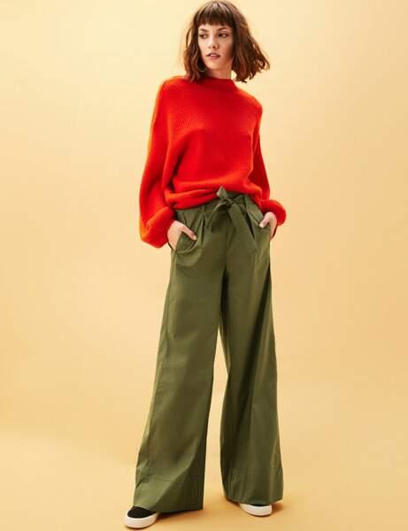 Nouveauté printemps : le pantalon taille haute