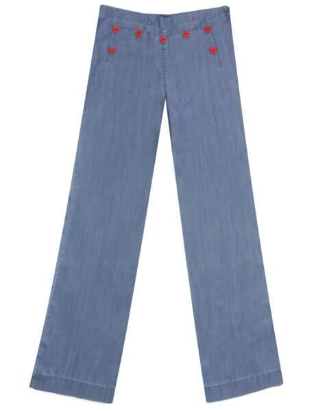 Néo-marin : le pantalon de matelot