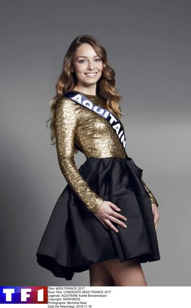 Miss Aquitaine - Axelle Bonnemaison