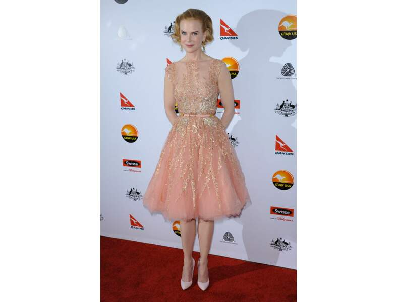 La robe de bal rétro de Nicole Kidman