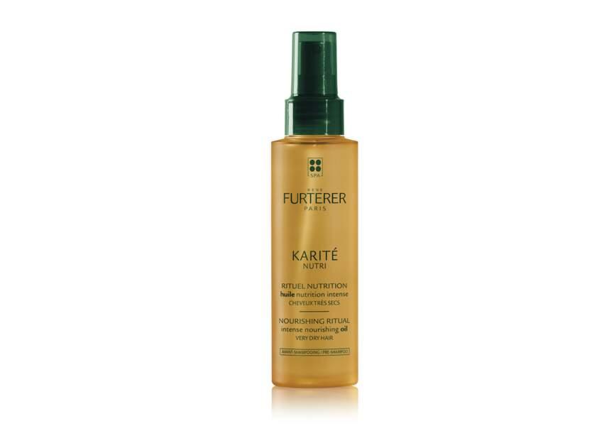 L'Huile Rituel Nutrition Avant-Shampooing Karité Nutri René Furterer