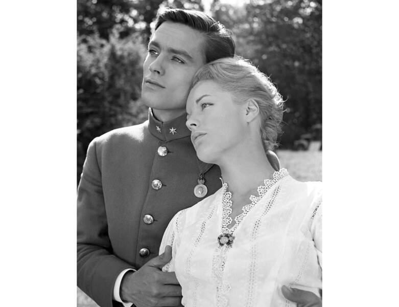 "En 1958, il joue dans ""Christine"" avec Romy Schneider"
