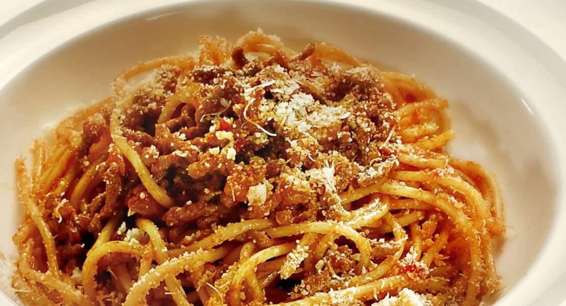 Spaghettis bolognaise faciles