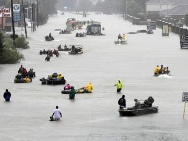 Harvey s'abat sur les Etats-Unis,12 ans après Katrina