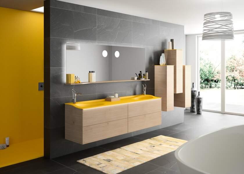 10 salles de bains en couleur - Femme Actuelle