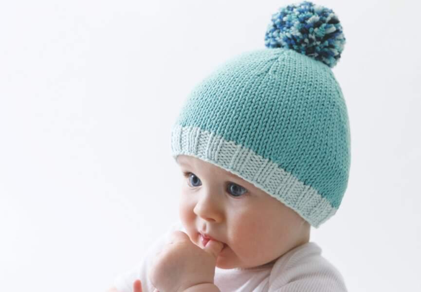 Un bonnet bleu