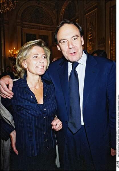 Claire Chazal et Xavier Couture
