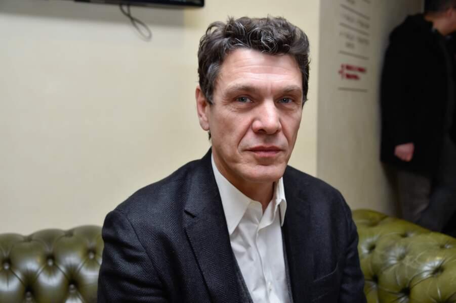 """Marc Lavoine à la projection du film """"Papa was not a Rolling Stone"""" à Paris le 9 mars 2015."""