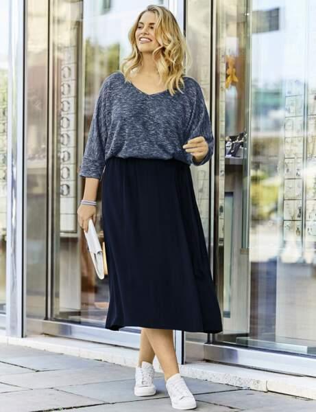 Mode grande taille : la jupe longue