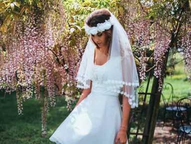 Des robes de mariée courtes repérées chez les créatrices