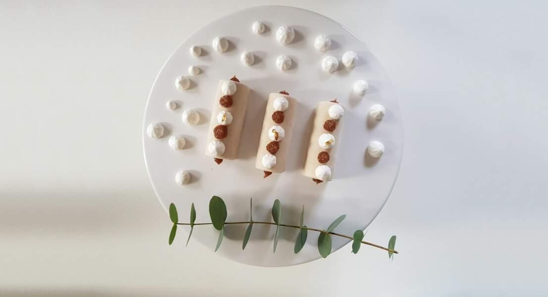 Bûches de Noël vegan façon Mont-Blanc