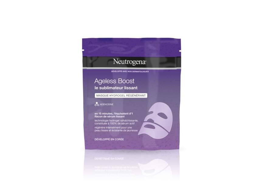 Le Masque hydrogel régénérant Ageless Boost Neutrogena