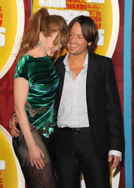 Nicole Kidman et Keith Urban au CMT Music Awards à Nashville le 8 juin 2011.