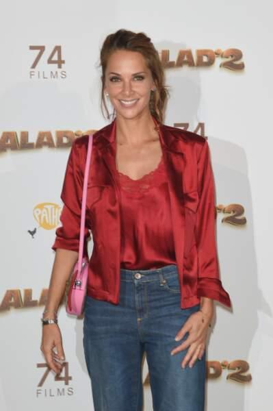 La journaliste et productrice Melissa Theuriau mesure 1m73.