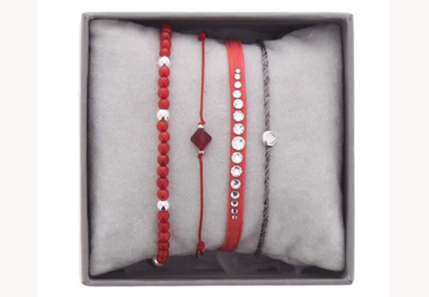 Le coffret de bracelets