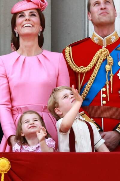 Kate, Charlotte, William et George