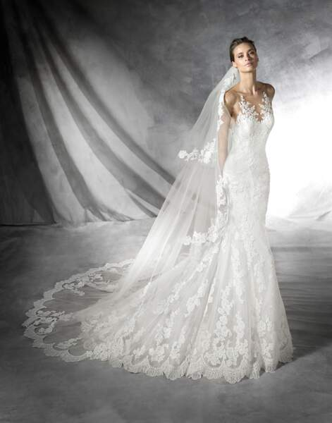 Robe de mariée Pronovias : Placia