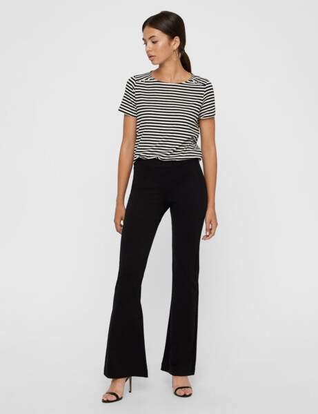 Pantalon : chic