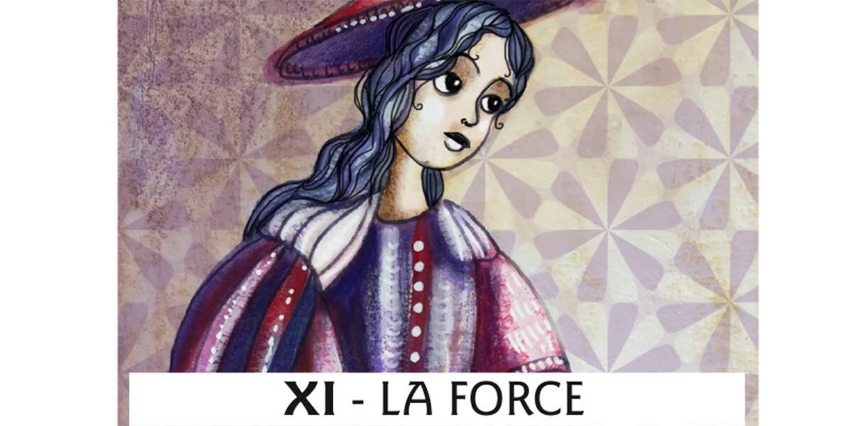 Tarot de Marseille : la Force