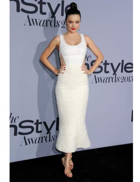 La robe 3D de Miranda Kerr